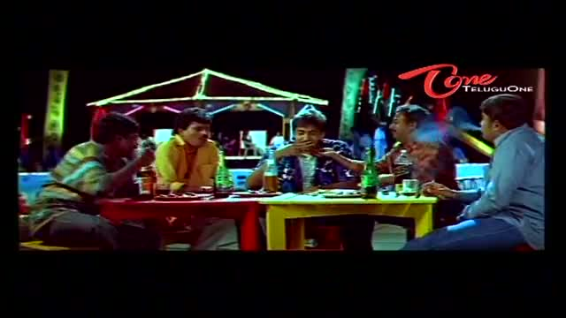 Telugu Comedy Scene From Cheppalani Vundi Movie - Drunken Comedy Scene Between Naveen & Venu Madhav - Telugu Cinema Movies