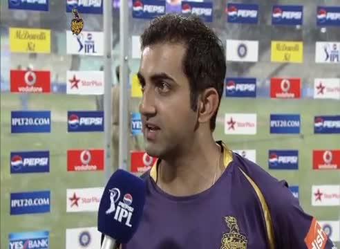 Post Match Interviews - DD vs KKR - PEPSI IPL 6 - Match 1