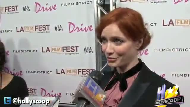 Christina Hendricks' Confusing Admission