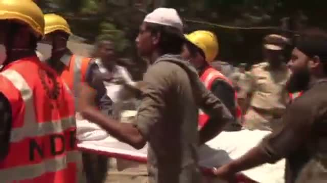 Aftermath of Deadly India Building Collapse