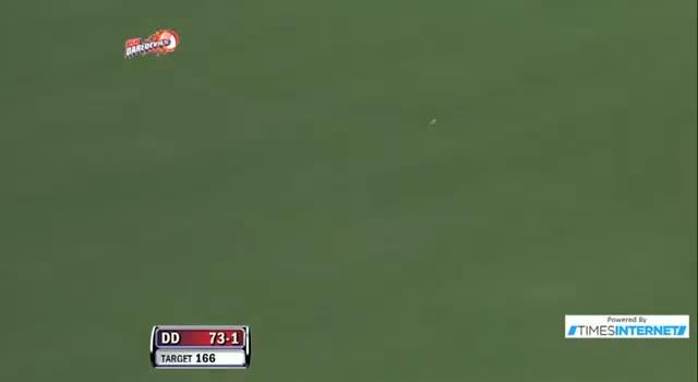 Four hit by David Warner off Rahul Shukla - DD vs RR - PEPSI IPL 6 - Match 4