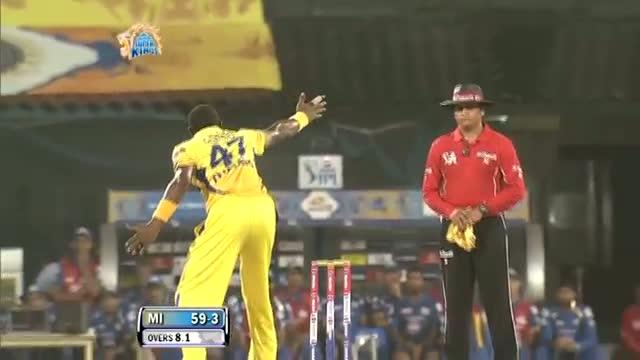 1st Inning Wickets - CSK vs MI - PEPSI IPL 6 - Match 5