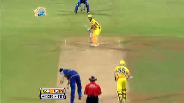 Outstanding Batting by MS Dhoni - CSK vs MI - PEPSI IPL 6 - Match 5