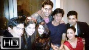SRK, Gauri, AbhiAsh & Karan Get Candid Post TOIFA