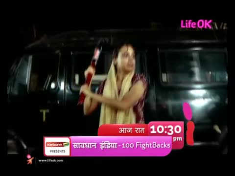 Savdhaan India - 100 Days, 100 Fightbacks - Lady Taxi Driver Promo