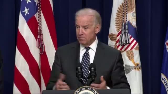 Biden: Filibuster on Guns Would Be Embarrassing