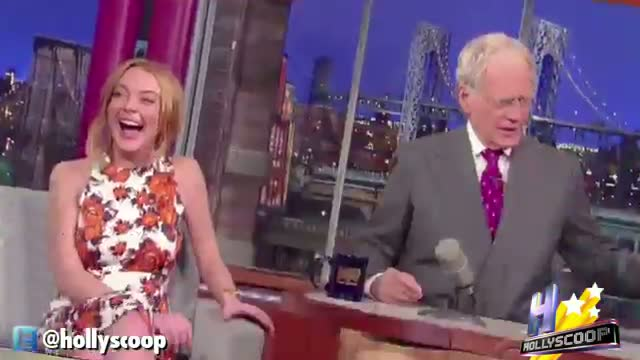 Lindsay Lohan Laughs Off Rehab, Then Cries On 'Letterman'