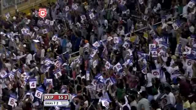 1st Inning Outstanding Batting by David Hussey - KXIP vs CSK - PEPSI IPL 6 - Match 11