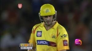 2nd Inning: Outstanding Batting by Michael Hussey - KXIP vs CSK - PEPSI IPL 6 - Match 11