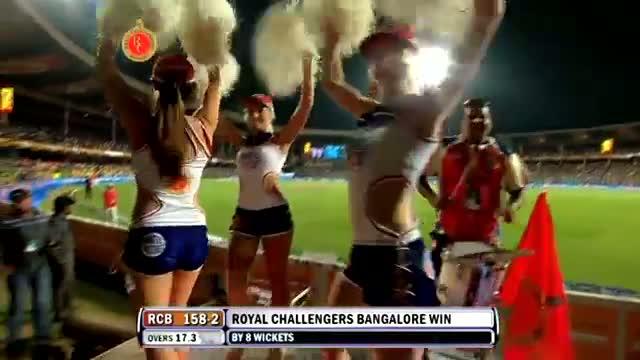 Winning Moments - RCB vs KKR - PEPSI IPL 2013 - Match 12