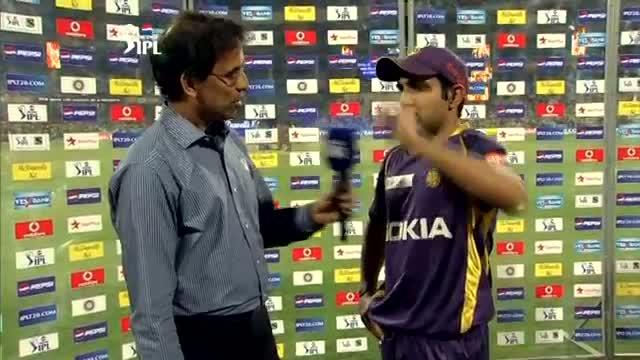 Post Match Interviews - RCB vs KKR - PEPSI IPL 2013 - Match 12