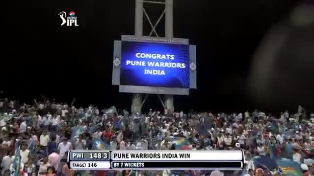 Winning Moments - PW vs RR - PEPSI IPL 2013 - Match 13