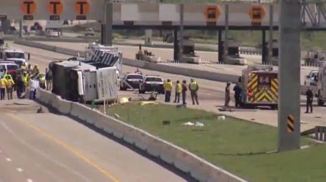Texas Bus Crash Kills 2, Injures 40