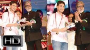 Mahesh Babu at Nandi Awards 2013 Presentation