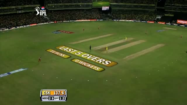 2nd Inning Outstanding Bowling by Ravi Rampaul - CSK vs RCB - PEPSI IPL 2013 - Match 16