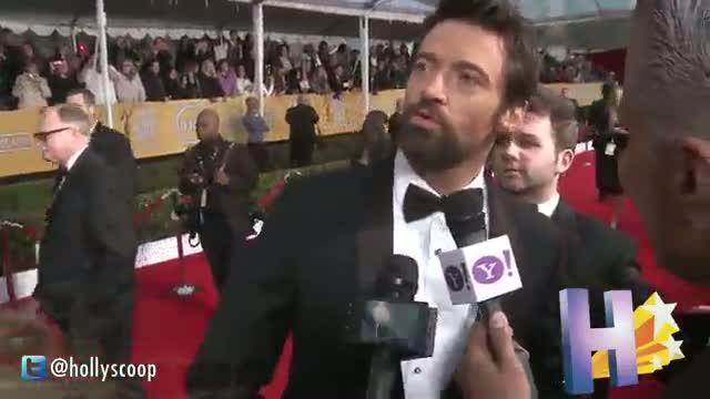 Hugh Jackman's Crazed Female Fan Arrested For Gross Stunt