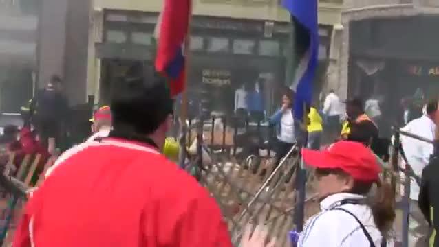 RAW Explosion Footage of Boston Marathon 2013 Bomb