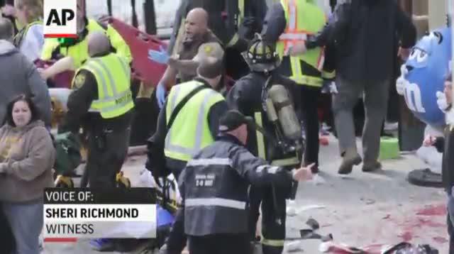 Witnesses Describe Boston Marathon Blasts