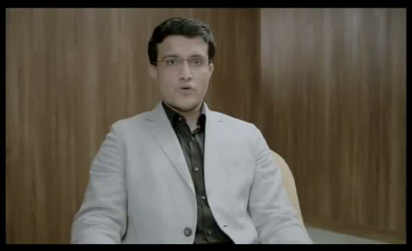 Apollo Munich Cute Ad with Saurav Ganguly Commercial India 2013