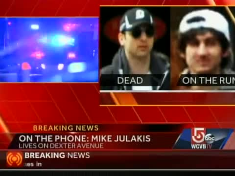 Mike Julakis describes shootout in Watertown/Boston with marathon bomb suspects