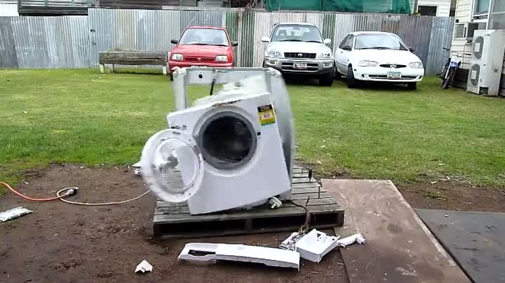 Whirlpool Washer Carnage