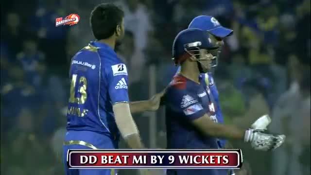 Virender Sehwag powers Delhi to 1st Win: Winning Moments - DD vs MI - PEPSI IPL 6 - Match 28