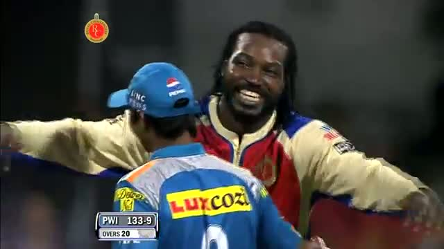 RCB win by record 130 runs - Winning Moments - RCB vs PW - PEPSI IPL 6 - Match 31