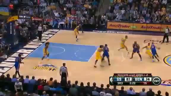Golden State Warriors Vs Denver Nuggets - NBA Playoffs 2013 Game 2 - Full Highlights 4/23/13