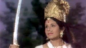 Santoshi Maa Averts Snake Attack - Drama Scene - Jai Jai Santoshi Maa