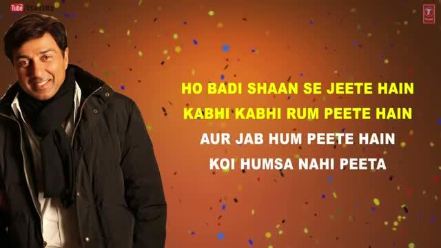 Gud Naal Ishq Mitha - Love New Year (Full Song With Lyrics) - Sunny Deol & Kangana Ranaut