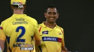Best Performance by MS Dhoni - CSK vs SH - PEPSI IPL 6 - Match 34
