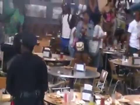 Alabama State University Cafeteria Brawl