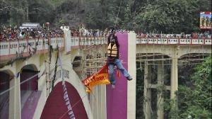 Sailendra Nath Roy: Daredevil Dies In Zip-Line Ponytail Stunt