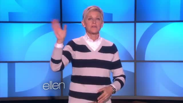 Ellen Congratulates Jason Collins