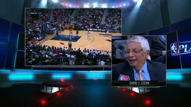 NBA: David Stern talks about Jason Collins' historic announcement