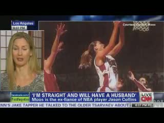 Piers Morgan Jason Collins Ex Carolyn Moos On His Coming Out