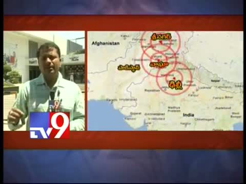 5.8 magnitude earthquake hits North India