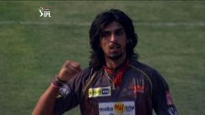 Ishant Sharma strikes jolt Mumbai Indians - SH vs MI - PEPSI IPL 6 - Match 43
