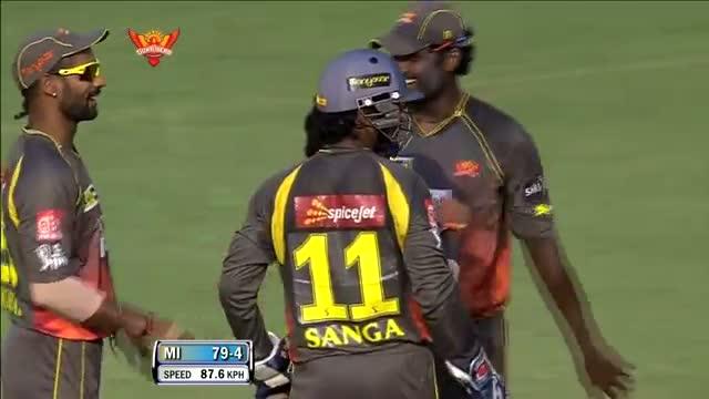 Wickets - SH vs MI - PEPSI IPL 6 - Match 43