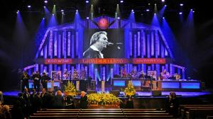 George Jones funeral at Grand Ole Opry House