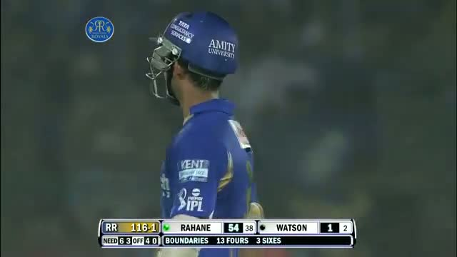 Outstanding Batting by Ajinkya Rahane - RR vs PW - PEPSI IPL 6 - Match 50