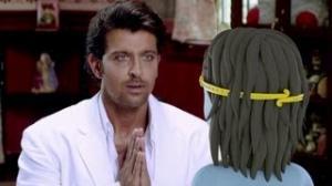 Main Krishna Hoon Movie Scene - Krishna Meets With Hrithik Roshan
