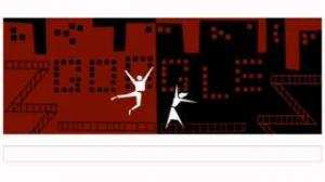 Animated Google Doodle celebrates iconic graphic designer Saul Bass's film titles on 93rd birthday