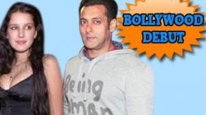 Salman Khan LAUNCHES Isabel Kaif , Katrina Kaif's SISTER