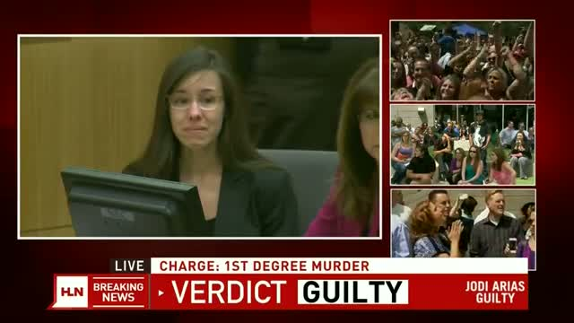 Jodi Arias verdict GUILTY: COUNT 1 First Degree Murder