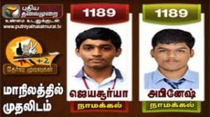 Tamilnadu 12th Toppers Of The Year 2013