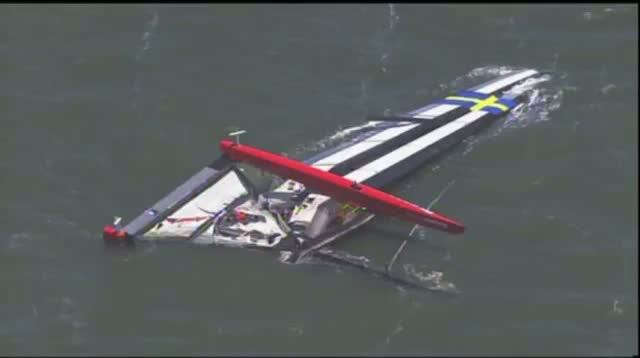 Sailor Dies in Capsize of America's Cup Boat