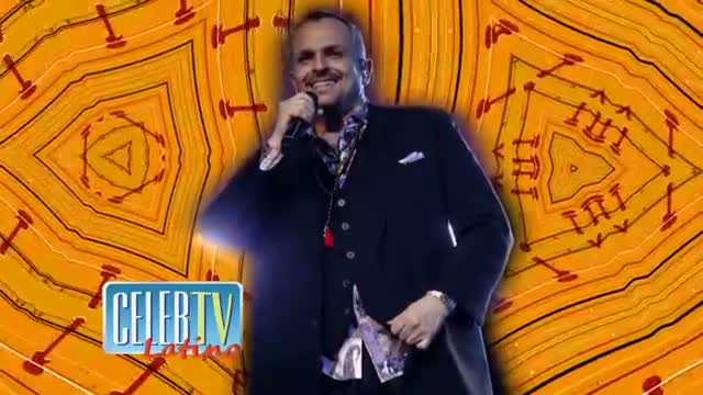 MIGUEL BOSE: Latin Grammy Award Person Of The Year