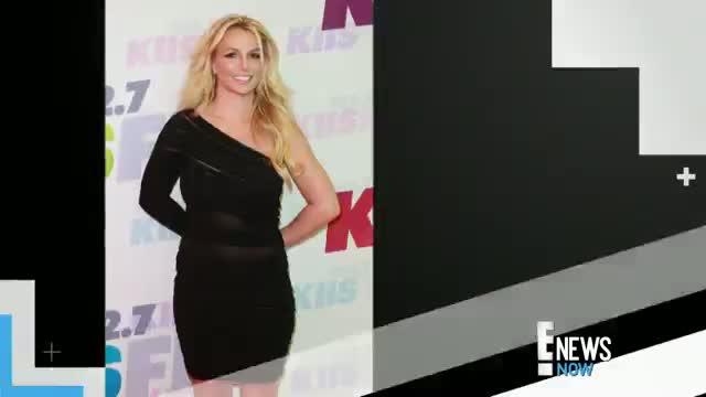 Britney Spears Rocks an LBD