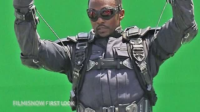 Captain America 2 The Winter Soldier (2014) - Falcon First Look and First Images Released